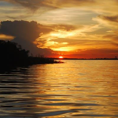 Lake Victoria Sunest Experience Uganda